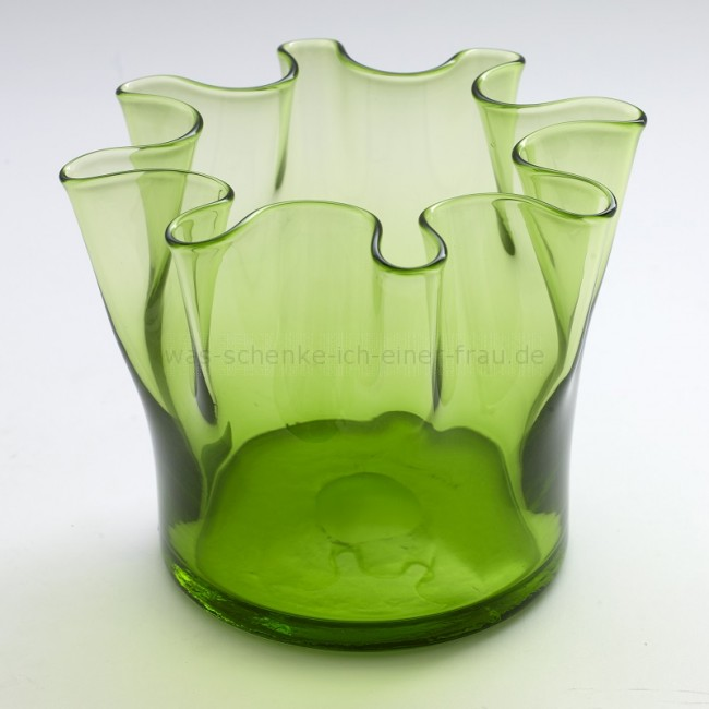 serax design vase faltvase in gr n. Black Bedroom Furniture Sets. Home Design Ideas
