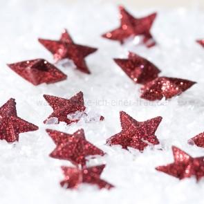 Casablanca Weihnachtsdeko Streudeko Sterne in rot