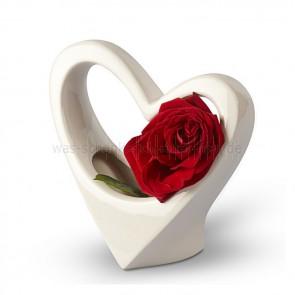 Deko-Herz-Vase-Amore
