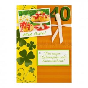 EigenArt_Geburtstagskarte_Alles_Gute_zum_40_Geburtstag