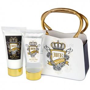 Geschenkset Kosmetik Badeset Windsor & Rose in Geschenktasche