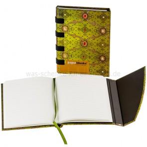 Paperblanks-Notizbuch-Seidenpracht-gruen-Midi