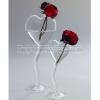 Serax Vase Herz auf Fuss H 20cm